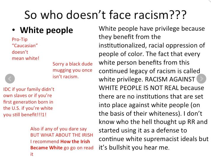 2013-11-06 No Reverse Racism