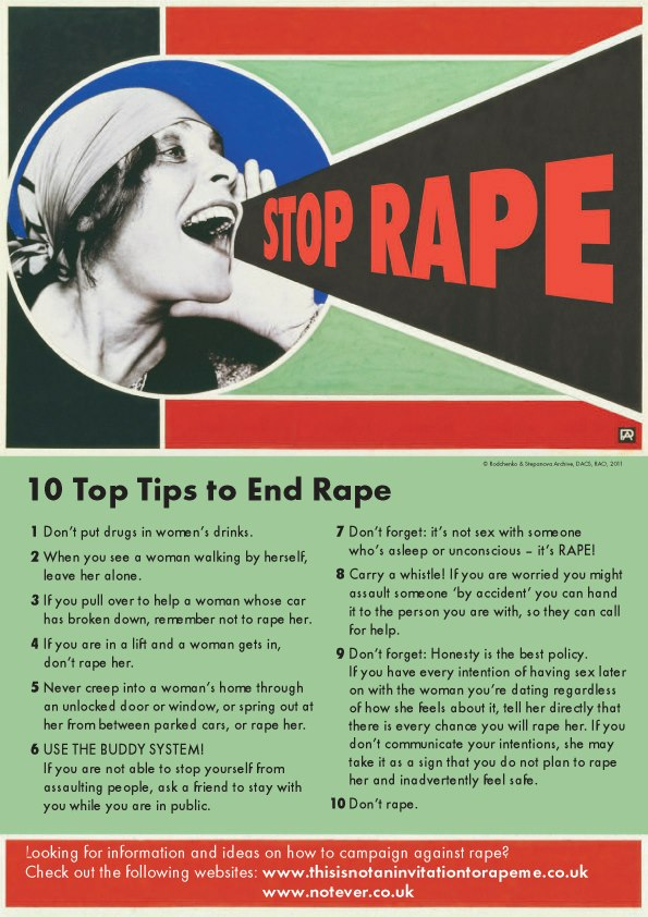 Exhibit A: How To Stop Rapes (But Not So Much Other Crimes)