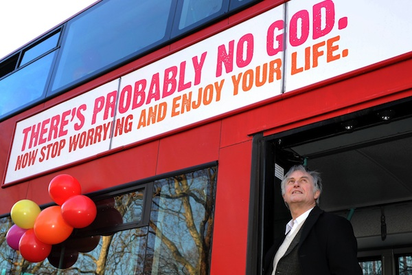 Atheist advertising campaign launched