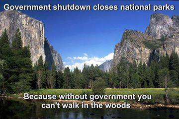 "The ""keep people out"" mentality is especially ridiculous when applied to wilderness. Does the federal government really believe that the Earth is a government facility? Think about that one for a minute..."