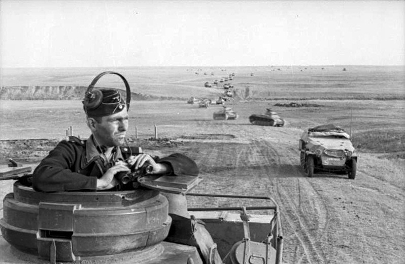 Biggest real-world use of maneuver warfare: Germans in WW2.