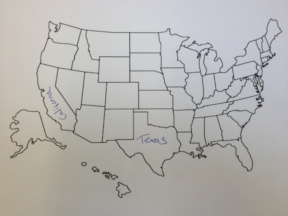 Hey, at least the Aussie tried to name every state!