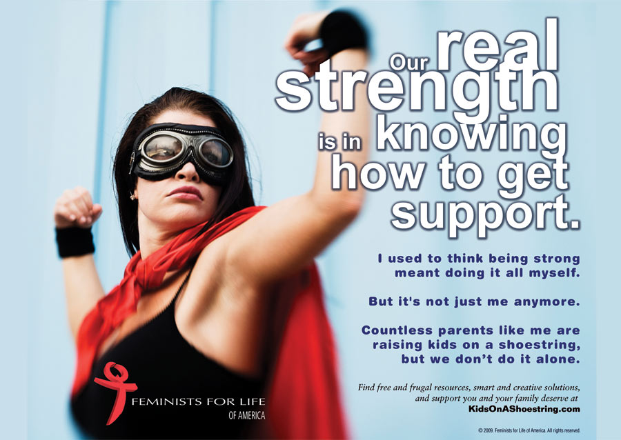 Feminists for Life cares about supporting women. It's more than just opposing abortion.
