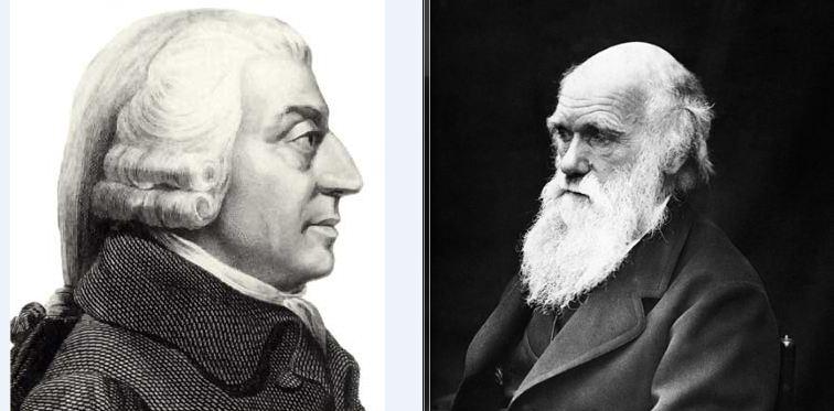 Adam Smith & Charles Darwin