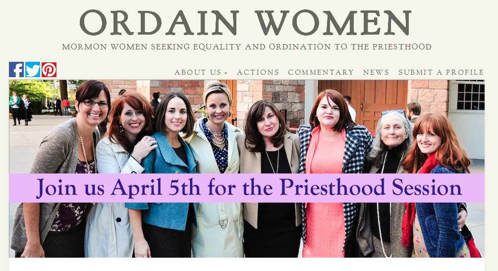 Ordain Women cover