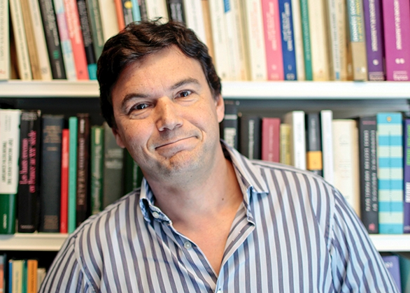 "Thomas Piketty, the author of ""Capital."""