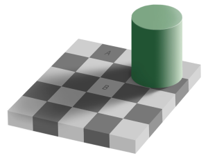 Grey Square Illusion