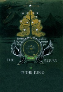 Tolkien's cover for The Return of the King