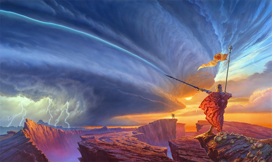 Cover illustration for Way of Kings (Stormlight Archives #1)