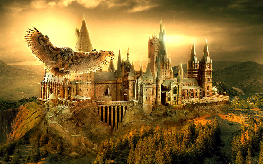 Hogwarts. Geo-spatially, this is about all the setting Rowling needed for her story.