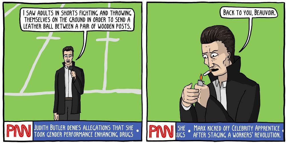 889 - Camus as Sports Reporter