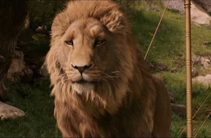 Aslan, from The Chronicles of Narnia: The Lion, the Witch, and the Wardrobe