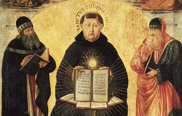 St. Thomas Aquinas, who originated the Principle of Double Effect. (We'll get to that at the end.)
