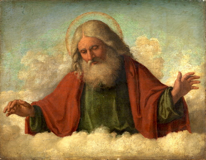 One of my favorite depictions of a loving Heavenly Father, by Cima da Conegliano.