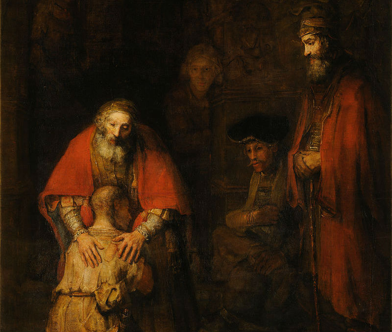 Rembrandt - Return of the Prodigal Son CROPPED
