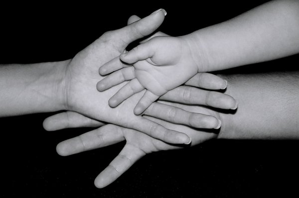 """""""Family Hands"""" by melissafong"""