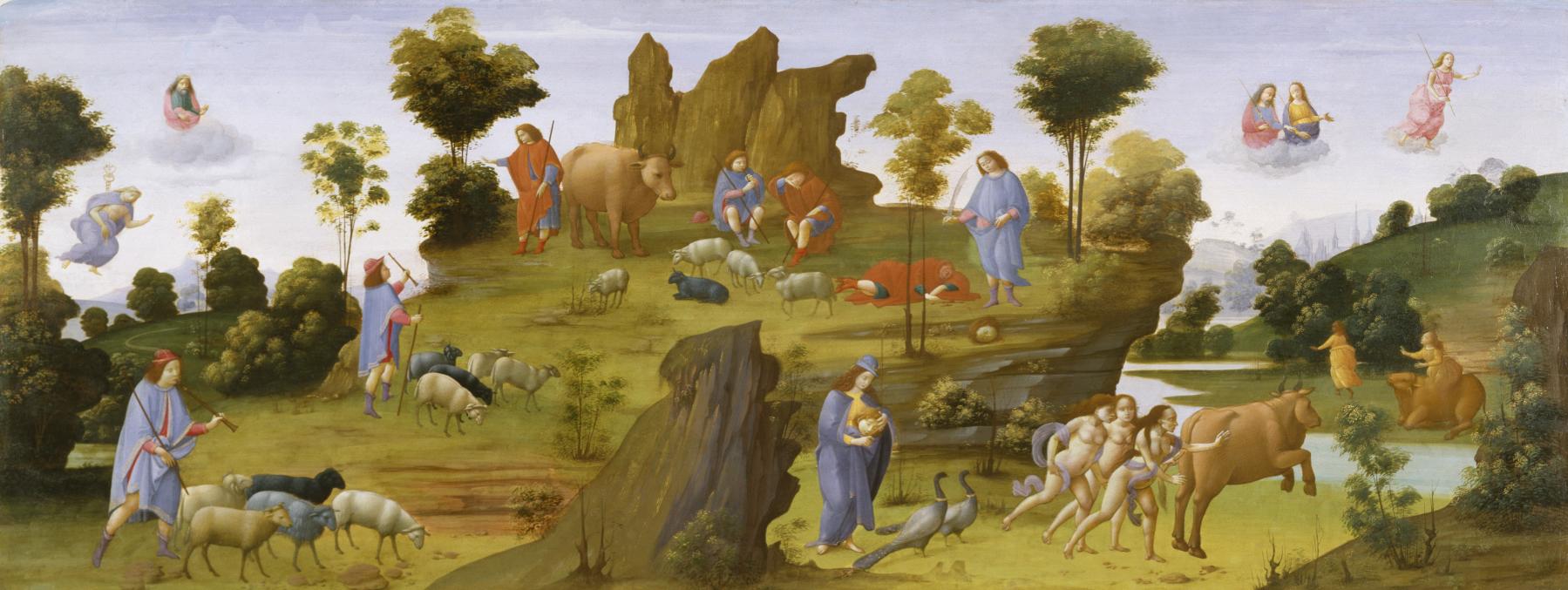 Bartolomeo_di_Giovanni_-_The_Myth_of_Io_-_Walters_37421